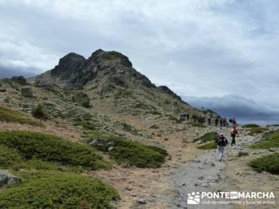 Lagunas de Peñalara - Parque Natural de Peñalara;bastones de senderismo;rutas navacerrada